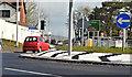 J3784 : Roundabout, Greenisland (April 2016) by Albert Bridge