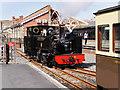 "SN5881 : Aberystwyth Station, Locomotive number 9, ""Prince of Wales"" by David Dixon"