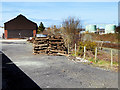 SN5881 : Vale of Rheidol Railway Approaching Aberystwyth by David Dixon