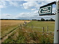 TF0269 : Public Footpath out of Heighington by Nick Grimshaw