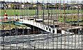 J3673 : New footbridge, Knock River, Belfast - April 2016(2) : Week 17