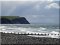 SN6090 : Seafront north of Borth : Week 17