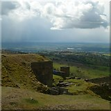 SO5977 : Wintry showers over Clee by Alan Murray-Rust