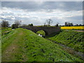 TF1506 : Stone bridge on North Fen Road, Glinton by Paul Bryan