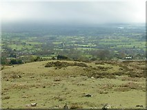 SO6076 : The south side of Clee Hill by Alan Murray-Rust