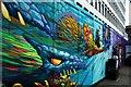 TQ3382 : View of street art on Great Eastern Street #5 : Week 19