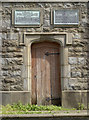 ST6277 : Burden Tower doorway by Neil Owen
