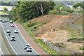 J2966 : New M1 service area, Lisburn/Dunmurry - May 2016(2) by Albert Bridge