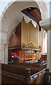 TL4943 : St Mary Magdalene, Ickleton - Organ by John Salmon