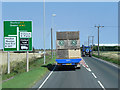 TF3230 : Westbound A17 Approaching Crossroads South of Fosdyke Bridge by David Dixon