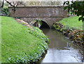 SJ4768 : Mill bridge, Great Barrow by Dave Dunford