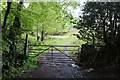 ST2098 : Gated footpath, Kendon by M J Roscoe