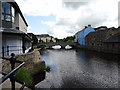 SM9515 : Haverfordwest, looking towards St Mary's Bridge by John Lucas