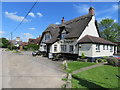 SP6407 : The Rising Sun, Worminghall Road, Ickford by John S Turner