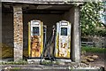 ST4613 : West Chinnock: Old Petrol Station by Eugene Birchall