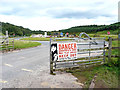 NY5258 : Entrance to Low Gelt Quarry by Rose and Trev Clough