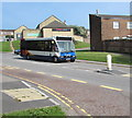 ST2795 : Sunday bus service on a Monday, Ty Gwyn Road, Cwmbran by Jaggery