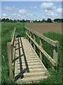 TL5786 : Footbridge by Keith Evans