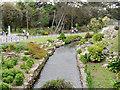SZ0890 : Bournemouth Lower Gardens, Bourne Stream by David Dixon