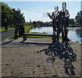 NS8780 : Sculptures along the Forth and Clyde Canal : Week 22