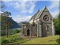 NM9080 : Church, Tree, Loch, Mountain : Week 22