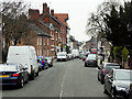SJ5562 : Tarporley, Top End of the High Street by David Dixon