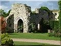 TQ0213 : Amberley - Ruins of former bishop's residence : Week 24