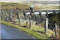 SN8968 : Craig Goch Dam and Valve Tower by David Dixon