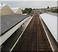SZ5991 : Through Ryde St John's Road railway station by Jaggery