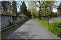 TL4357 : Road to Leckhampton by N Chadwick