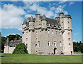 NJ7212 : Castle Fraser: view from the south-west : Week 26
