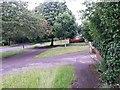 SZ0695 : West Howe: footpath U35 heads for Ericksen Road by Chris Downer
