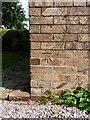 SJ7401 : OS benchmark - Grindle, Harrington Cottages by Richard Law