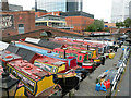 SP0686 : Gas Street Basin by Keith Edkins