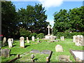 TF2006 : St Bartholomew, Newborough: churchyard by Basher Eyre
