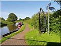 SJ4171 : Shropshire Union Canal Towpath at Caughall Bridge by David Dixon