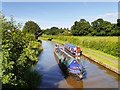 SJ4171 : Narrowboats on the Shropshire Union Canal by David Dixon