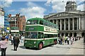 SK5739 : Trolleybus 506 in the Old Market Square – 1 by Alan Murray-Rust