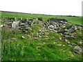 SE0529 : Ruins of a building at Hunter Hill, Ovenden by Humphrey Bolton