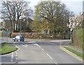 TQ5130 : Roundabout, Croft Rd by N Chadwick