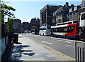 NT2473 : Buses and coaches on Princes Street, Edinburgh by Mat Fascione