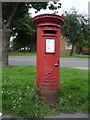 SK5534 : Elizabeth II postbox on Green Lane, Clifton by JThomas