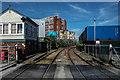SJ5987 : Quay Fold level crossing, Warrington : Week 29