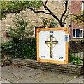 SJ9593 : Faith Hope Love by Gerald England