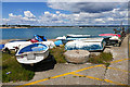 SU6800 : Boats, Ferry Point by Alan Hunt
