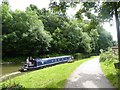 ST7862 : Narrow boat on Kennet and Avon Canal by David Smith
