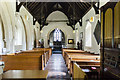TF0554 : Interior, St Hybald's church, Ashby de la Launde by Julian P Guffogg