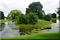 SO8744 : Lake in Croome Park by Bill Boaden