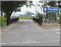 ST4770 : Entrance to Nailsea School, Nailsea by Jaggery