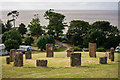 ST1142 : A stone circle at Home Farm Holiday Centre, St. Audries by Oliver Mills